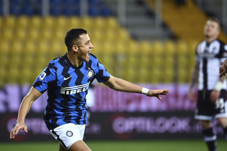 Detalj sa meča Parma - FK Inter