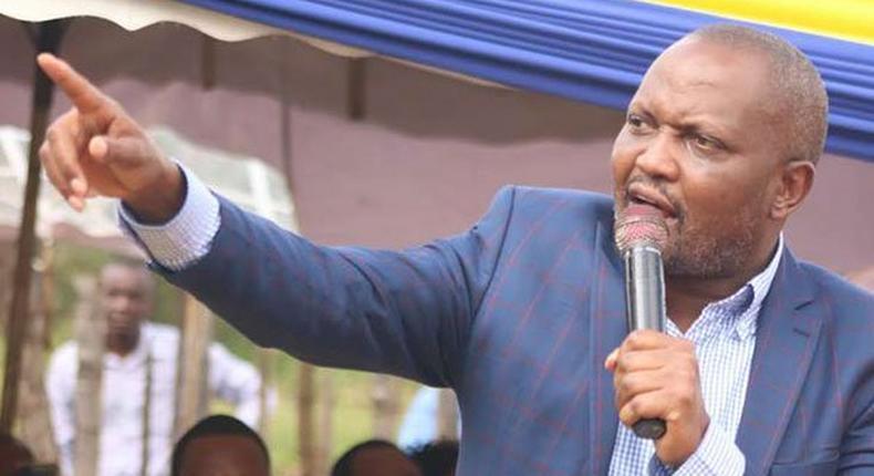 File image of Gatundu South MP Moses Kuria