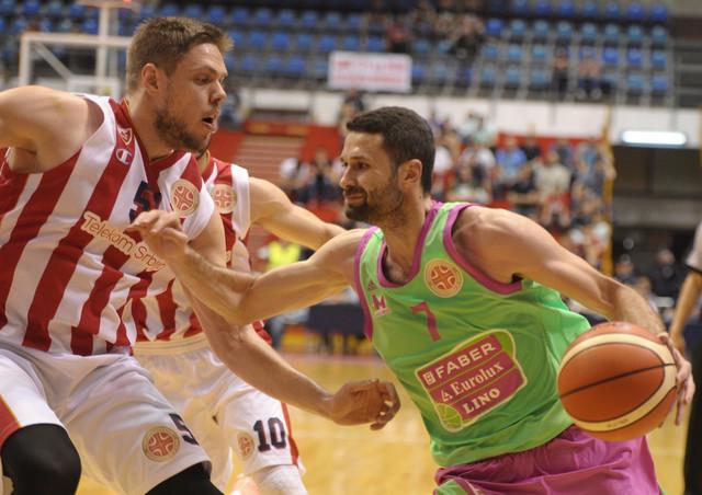 Aleksandar Rašić u dresu Mega Bemaksa