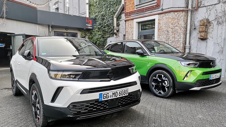 Opel Mokka 1.2 Turbo/130 KM GS Line i zielona Mokka-e Ultimate