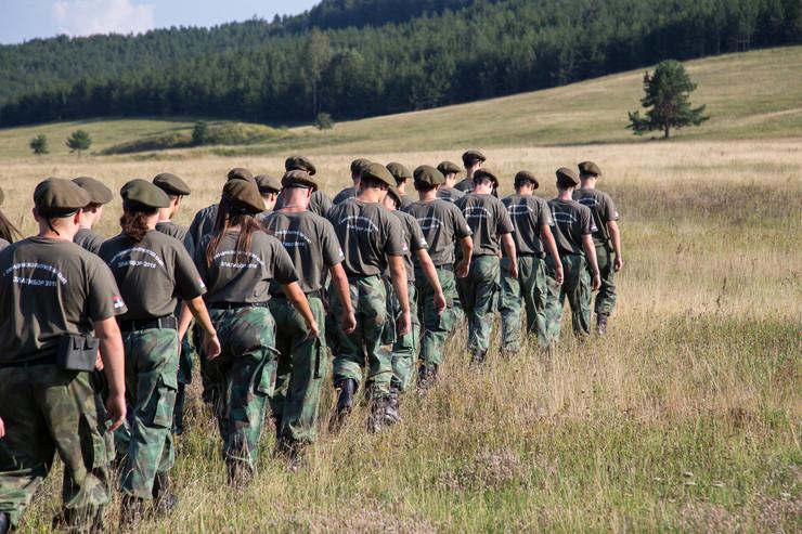 Zlatibor, Kamp, Deca, Vojna obuka