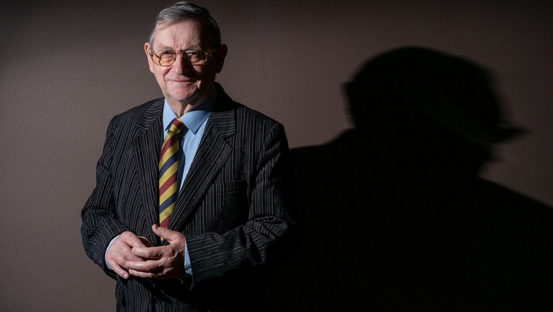 Prof. Norman Davies Fot. Maksymilian Rigamonti