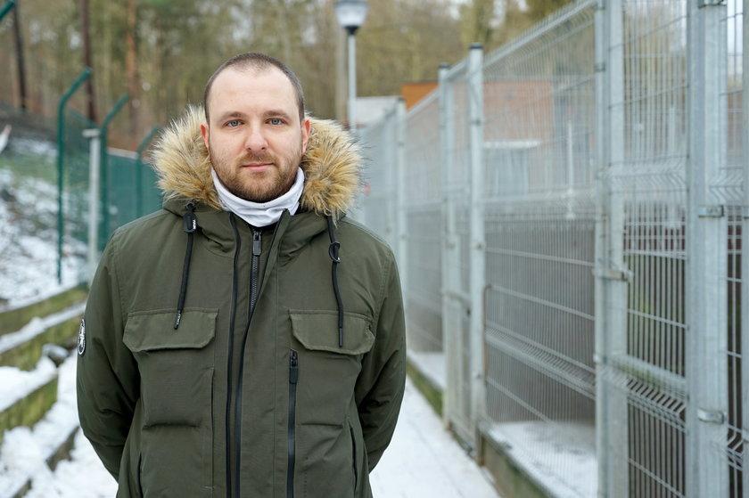 Jarosław Florek, zastępca kierownika schroniska Ciapkowo