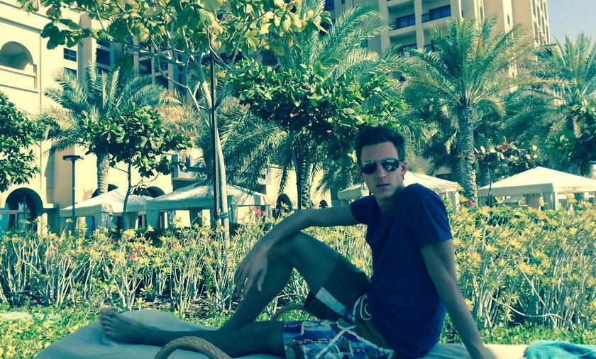 Gregor Schlierenzauer w Dubaju