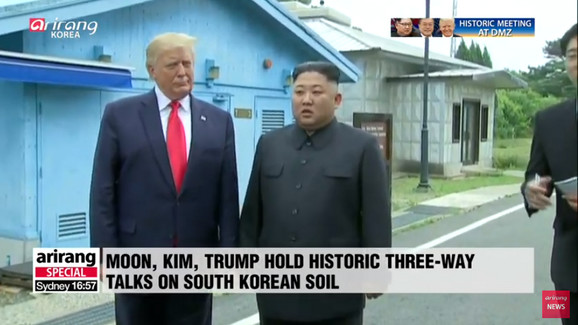 Donald Tramp i Kim Džong Un