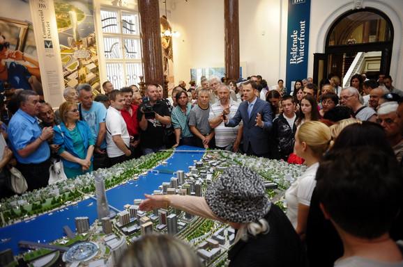 Više od 400 građana došlo da vidi maketu