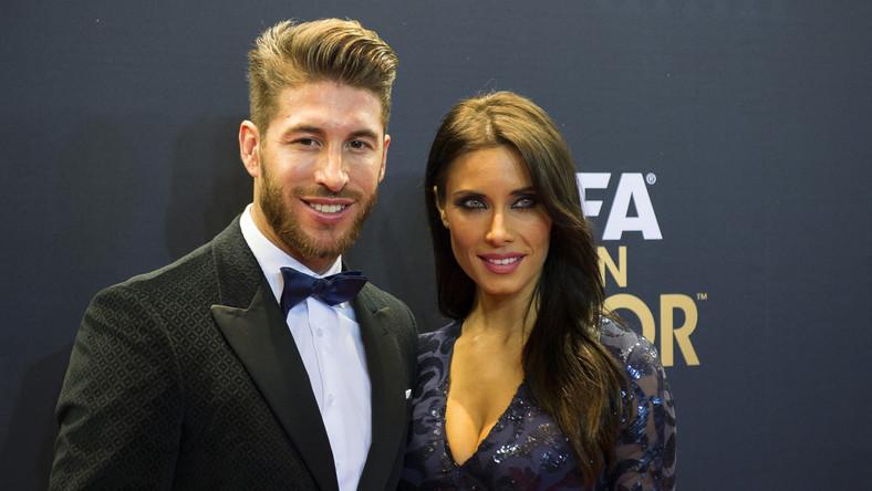 Sergio Ramos ze swoją dziewczyną Pilar Rubio