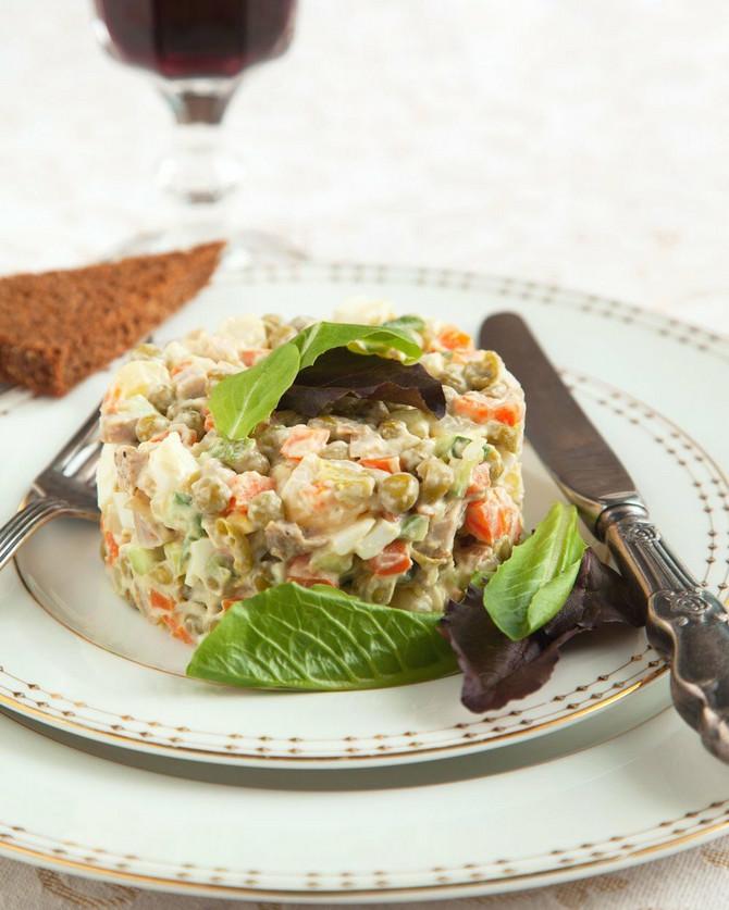 Ruska salata nekada nije izgledala ovako