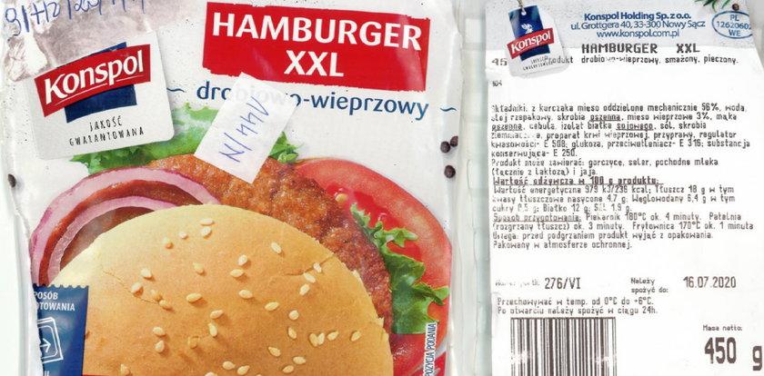 Uwaga na te hamburgery! Mają groźną bakterię