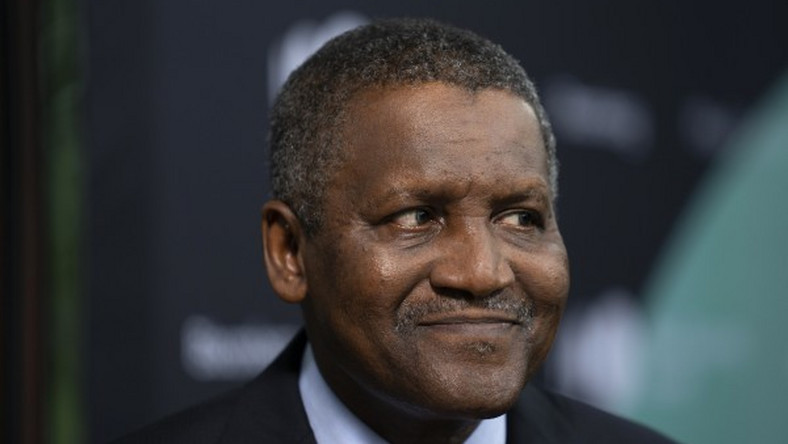 Aliko Dangote, the President of Dangote Group and United Nations (UN) Malaria Ambassador for Nigeria.