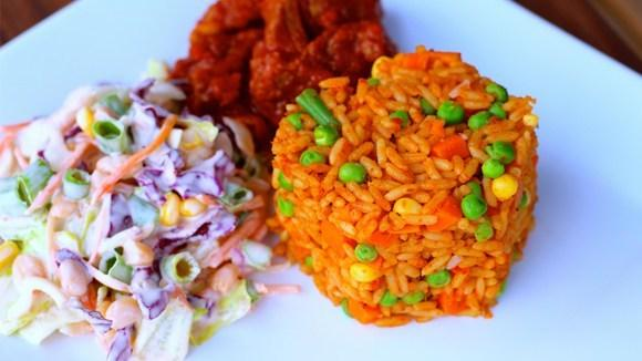 How to prepare vegetable jollof rice