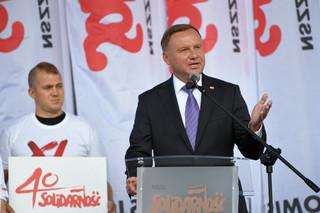 Andrzej Duda: To 'Solidarność' doprowadziła do zburzenia Muru Berlińskiego