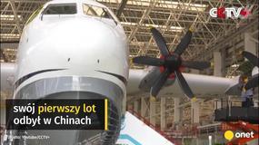 Pierwszy lot największego hydroplanu na świecie - Avic AG600 Kunlong