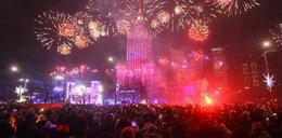 Tak witali nowy rok w Warszawie!