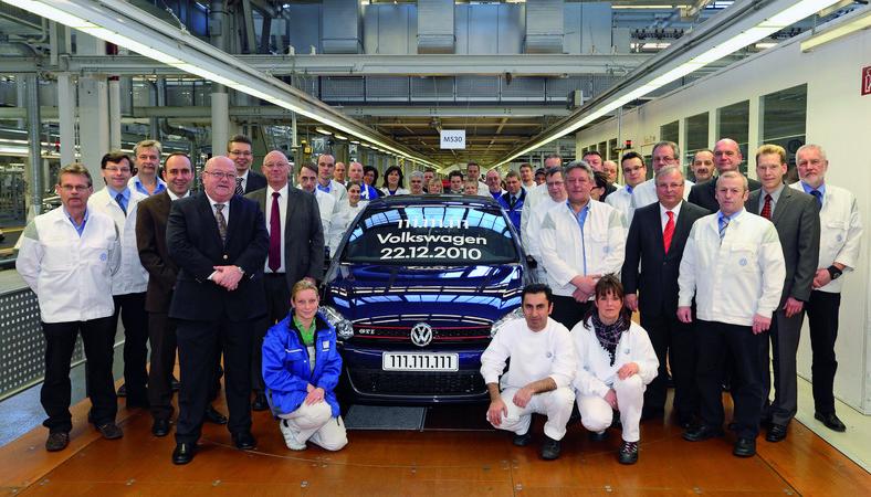 Volkswagen wyprodukował 111 111 111 samochód