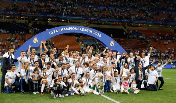 Fudbaleri Reala 11. put na evropskom tronu