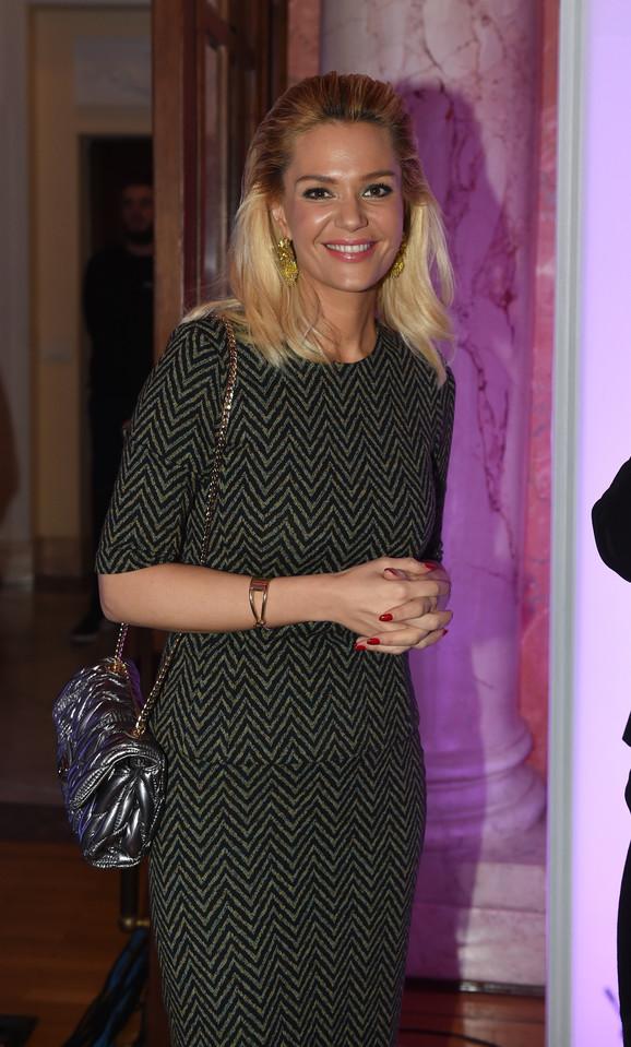 Lena Kovačević je otpevala himnu Srbije na svečanosti OKS-a