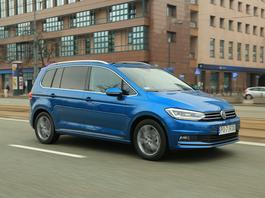 Volkswagen Touran – doskonały na rodzinne wojaże | TEST