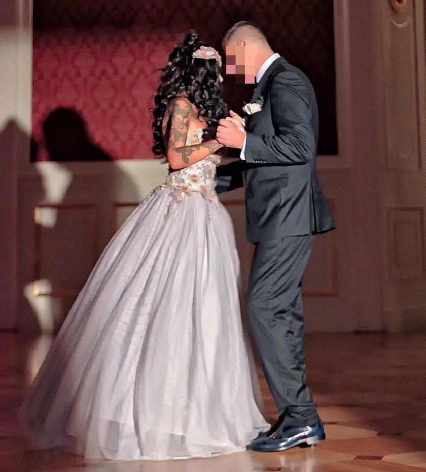 Ewa Minge z mężem