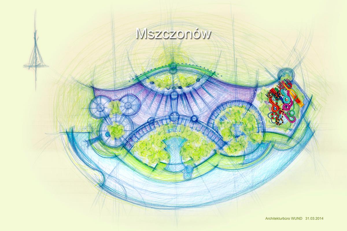 Plan Park of Poland
