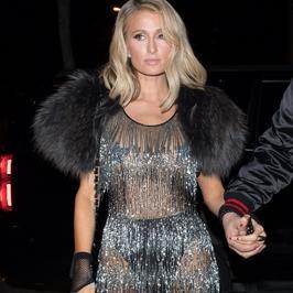 Paris Hilton w prześwitującej kreacji. Znów odsłoniła za dużo?!