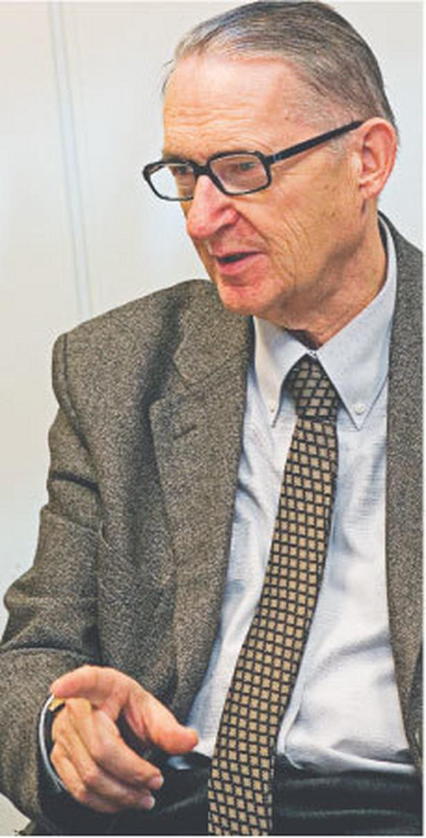 Feliks Zedler, profesor zwyczajny na Wydziale Prawa i Administracji Uniwersytetu im. Adama Mickiewicza w Poznaniu Fot. Marek Matusiak
