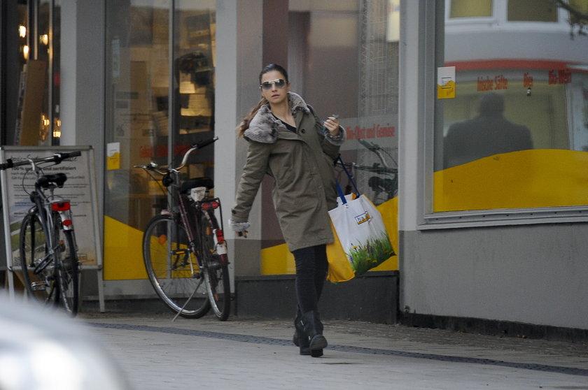 Anna Lewandowska na zakupach