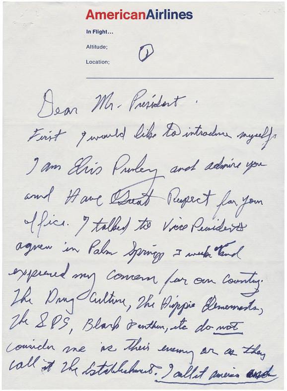 Elvisovo pismo