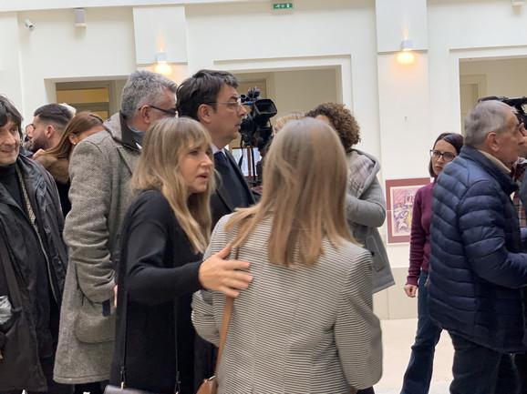 Anica Dobra na komemoraciji Nedi Arnerić