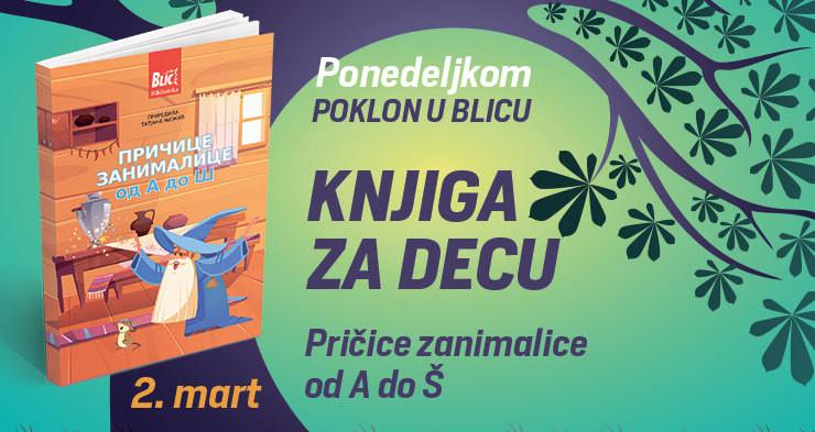 """Poklon knjiga u ponedeljak u """"Blicu"""""""