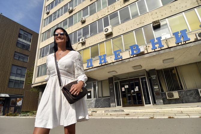 Milica Ćirić, slepa novinarka iz Novog Sada