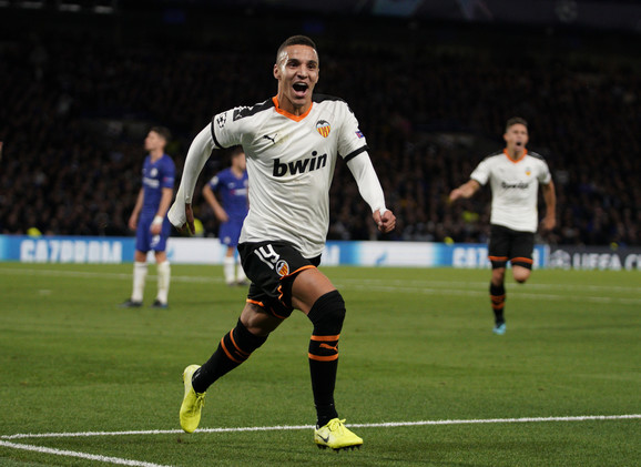 Rodrigo, strelac pobedonosnog gola za Valensiju