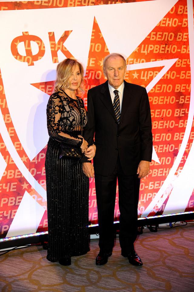 Dragan Džajić sa suprugom Brankom