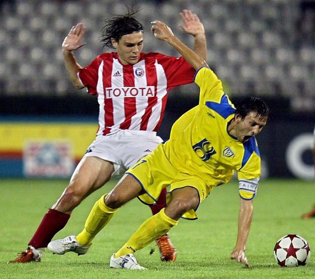 Nenad Kovačević u dresu Zvezde