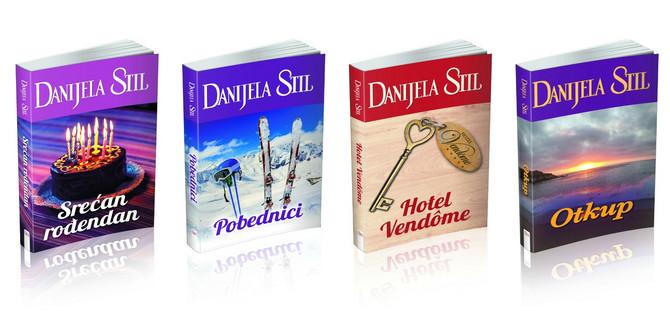 Knjige Danijele Stil prodaju se u milionskim tiražima