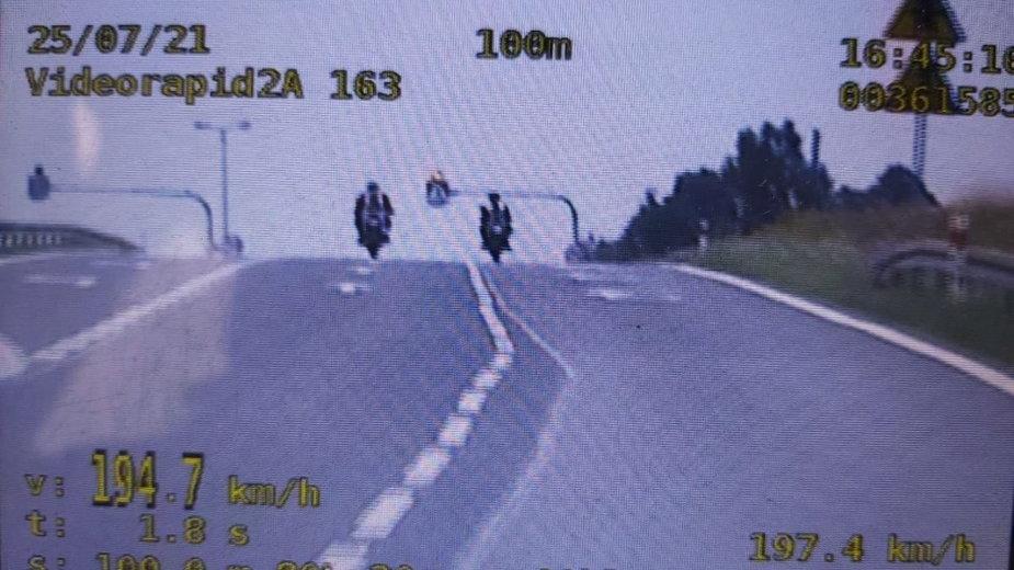 Piraci drogowi na motocyklach zatrzymani w Koluszkach