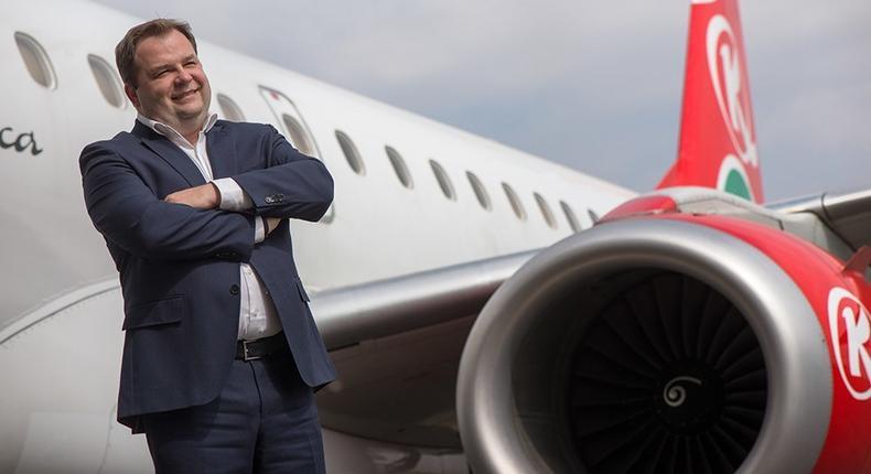 Kenya Airways CEO Sebastian Mikosz