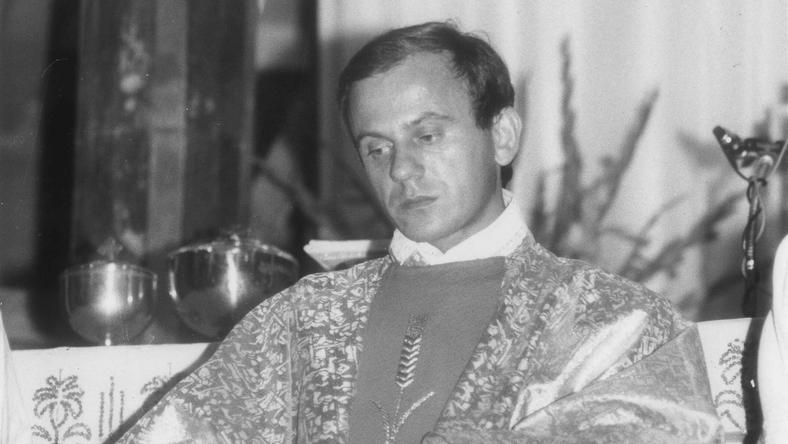 Jerzy Popiełuszko, zdjęcie z 1984 roku