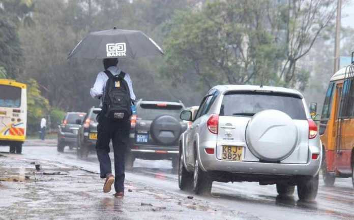 A rainy day in Nairobi