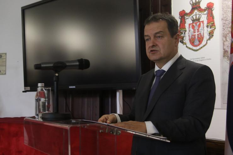 Ivica Dačić, Tanjug MSP