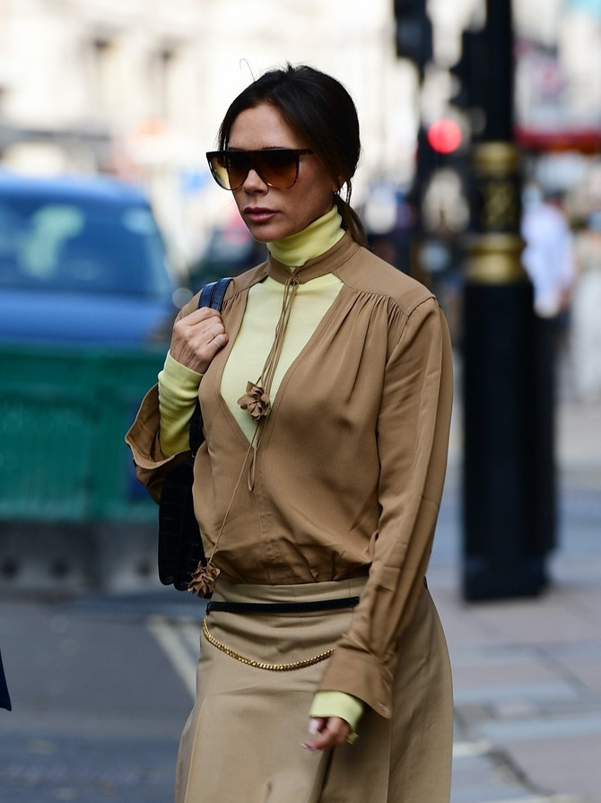 Viktorija Bekam u Londonu