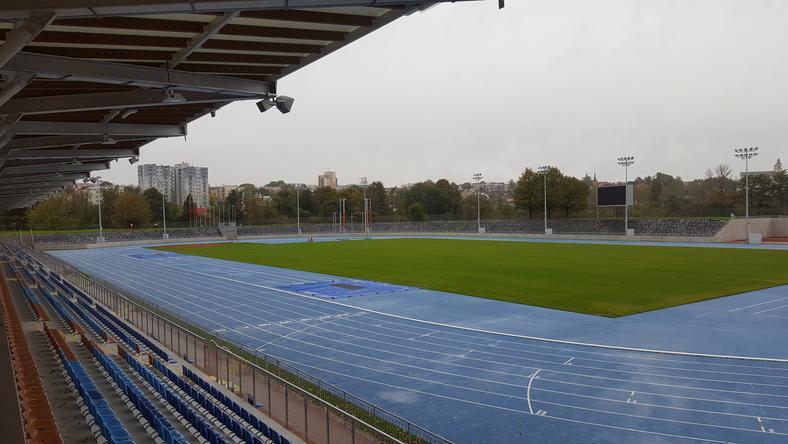 Odnowiony stadion lekkoatletyczny