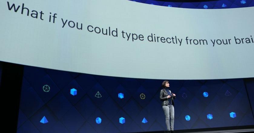 Regina Dugan przedstawia plany Facebooka związane z komunikacją myślami
