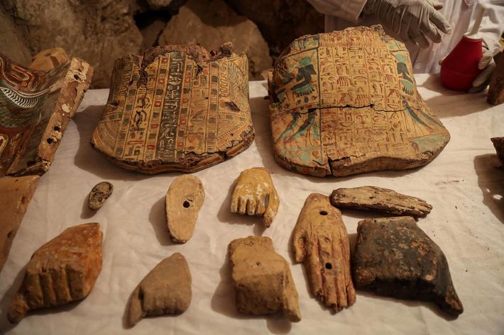 Egyptian archaeologists discover two tombs from 18th Dynasty pharaohs