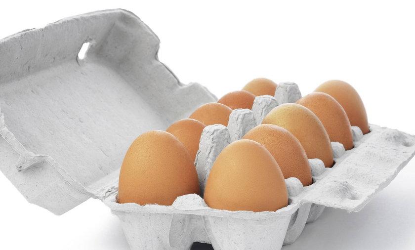 Karton z jajkami