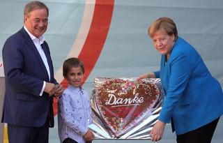 Merkel i Laschet: Jeśli chcecie stabilności, to jutro chadecja musi wygrać