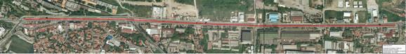 Planirana staza u Višnjičkoj ulici