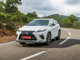 Lexus RX - zmiany na 2020 rok