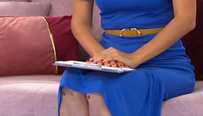 Voditeljka Doris Pinčić Rogoznica i scena koja je uzburkala TV publiku