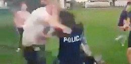 Szokujące sceny w Pastuchowie. Ojciec i syn pobili policjantów